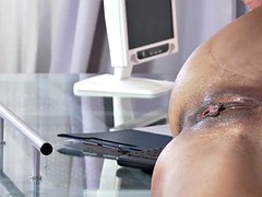 Two luscious secretaries gets rammed by their horny boss