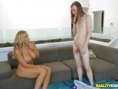 Reality Kings - Dirty milf Olivia Austin takes young cock
