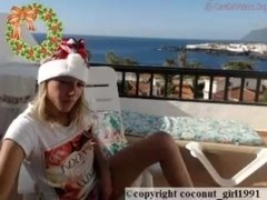 Perfect teen strip coconut_girl1991_141216 chaturbate LIVE show REC