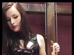 Strict german mistress in charge