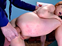 Brazzers  Penny Pax loves office anal