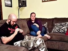 Cheating prostitute Ex Wife- Leg, Foot Fetish, Jeggings