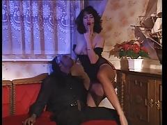 Simona Valli rare interracial scene