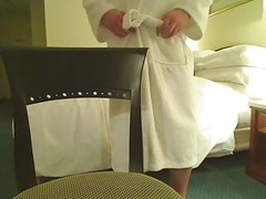 Stroking In The Hotel Room