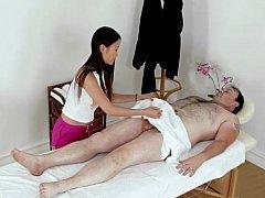 Asiatisch, Chinesisch, Handjob, Massage, Muschi, Reiten