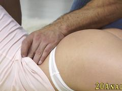 natural babe has anal sex video