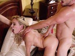 Stepmom Cherie DeVille seduces Kyle Mason for sex