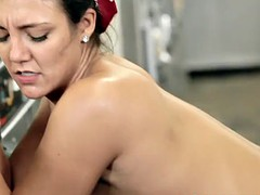 Curvy Teen Tomi Taylor Takes It All