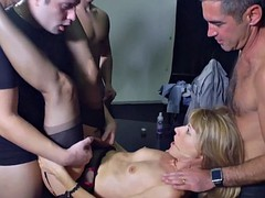 Hot milf and her younger lover 390