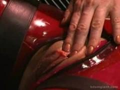 Red Rubber Magic bean Tickle