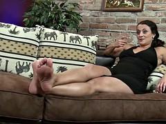 mature sasha sexy feet worship