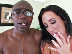 Jayden takes on Sean's big black cock