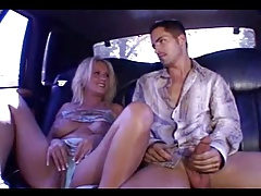 Blonde threesome milf fucks hard (MC)