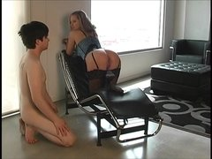 Be a good Slaveboy for your Mistress