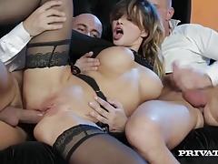 Anaal, Sperma shot, Dubbele penetratie, Hardcore, Hd, Ruw, Trio