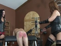 Goddess Brianna - Suck Our Strap Ons - The Brutal Caning