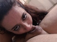 A chick that fucks like an animal is getting her ass grabbed