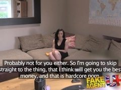 FakeAgentUK Good hard fucking for sexy ass brunette on casting couch