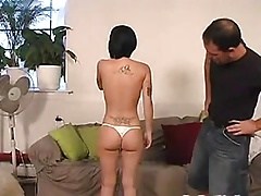 Alli Spanked Then Butt Fucked