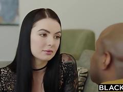 BLACKED Marley Brinx first bbc in her ass
