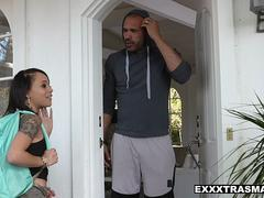 ExxxtraSmall - Hot Teen Holly Hendrix Fucked In Ass By Neighbor