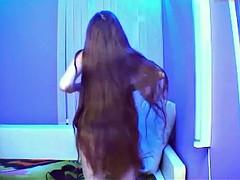 Long hair , Hair , Bun drop compilation