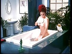 Moana Pozzi Lesbian scene - Naked Goddess (1991)