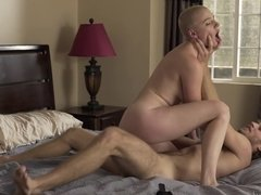 Hairless hottie is a perfect sex partner for handsome hairy guy