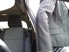 pute sur parking routier