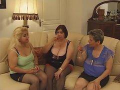 Hot Chubby Mature Real hardcore orgy