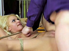bondage eurobabe fucked anally by maledom