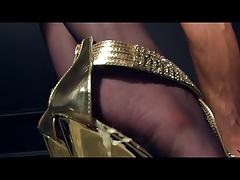 Worship my golden heels