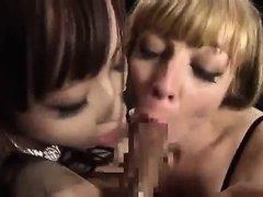 DDT-458 Blonde Fist Foot Lesbian Aid Liana Nicole Yui Misak