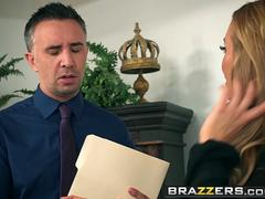 Brazzers - Big Tits at Work - Team Player scene starring Nicole Aniston and Keiran Lee