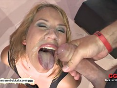 Extreme Bukkake - Sexy Phoebe Glazed
