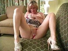 Dripping wet blond mom i`d like to fuck with amazing body teaches you to handle your love tool