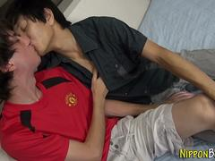 asian twink toys asshole asian