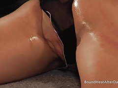 Group Of Lesbian Slaves And Mistresses In Steamy Action