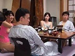 Asiatique, Érotique, Groupe, Japonaise