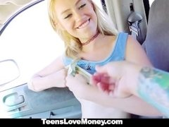 Teamskeet - Hippie Chick Strips & Fucks for a few bucks
