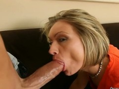 Young and vernal and additionally vernal Excited Blonde Slut Loves Huge Love tool and additionally Doggystyle