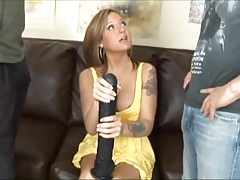 Black Cock vs White Cock (Sophia Gently)
