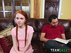 jizzy mouthed teenager teen