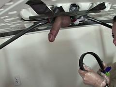 Strange Handjob By Kinky Slut Jaylynn