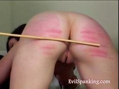 What she need is some hard bum spanking