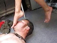Bondage domination sadisme masochisme, Femme dominatrice, Fétiche des pieds