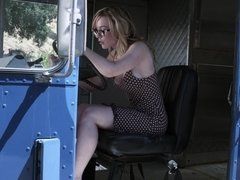 Bad girl with good tits tells the story of her life