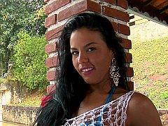 Lieveling, Badpak, Braziliaans, Latijnse vrouw, Kut duiken, Tiener