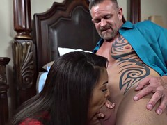 Nicole Bexley gets her pussy ravaged by big hard cock
