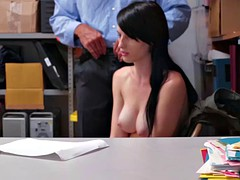 Sweet chick Alex Harper fucking a strong hard cock